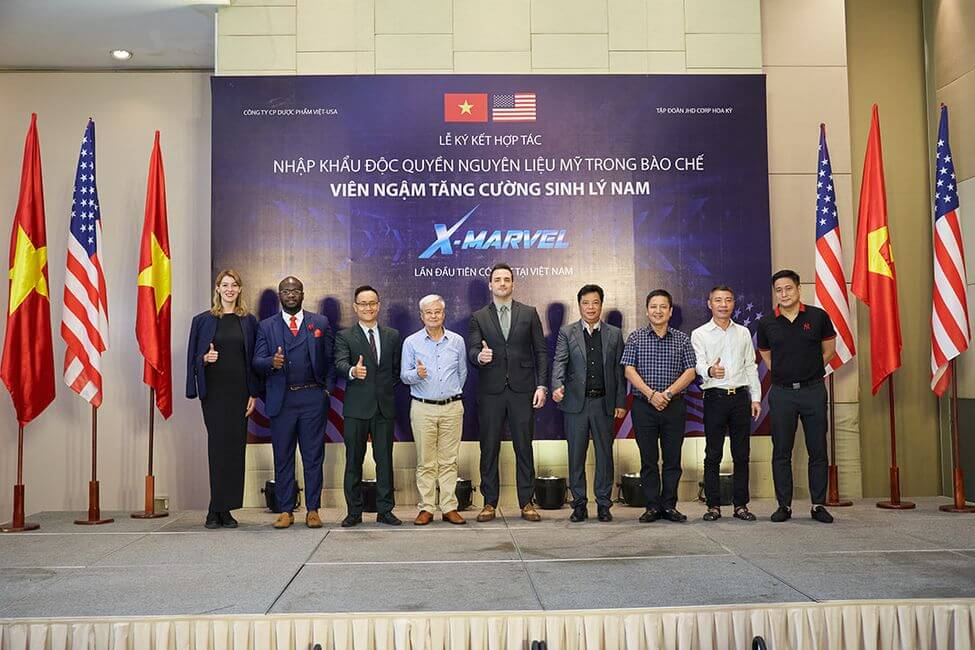 Lễ ký kết nhập khẩu độc quyền nguyên liệu giữa Mỹ và Việt Nam