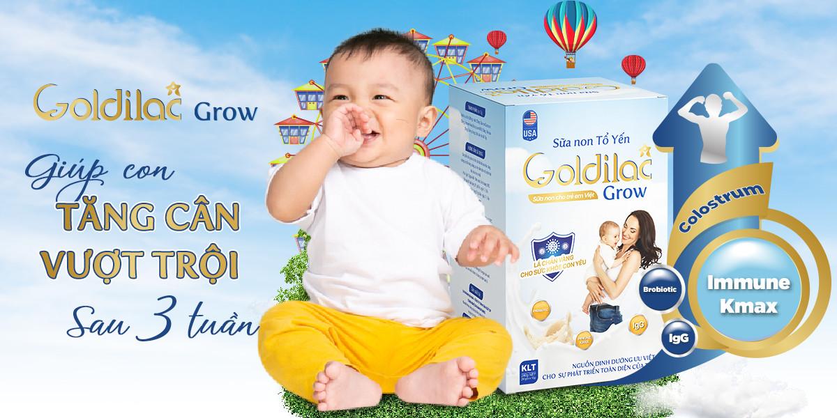 Sữa non Goldilac Grow